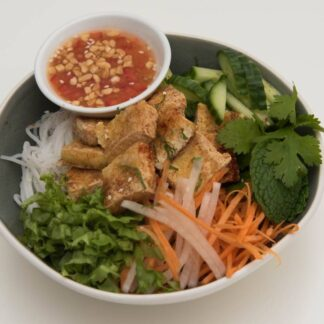 Crispy Tofu Vermicelli Noodles from Eat Mi takeway and Restaurant in Auckland