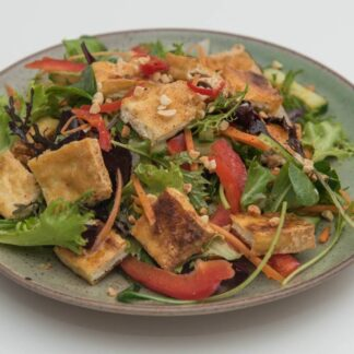 Crispy Tofu Salad from Eat Mi takeway and restaurant in Auckland