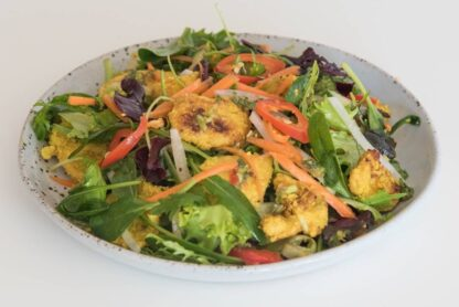 Lemongrass Chicken Salad by Eat Mi Takeway and restaurant in Auckland