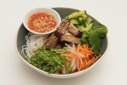 Grilled sesame pork Vermicelli noodles from Eat Mi takeway and restaurant in Auckland