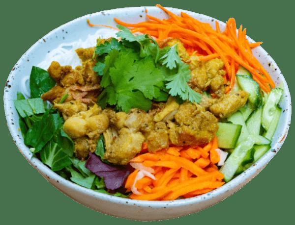 Lemongrass Chicken Vermicelli Noodles from Eat mi Vietnamese Street Food in Auckland