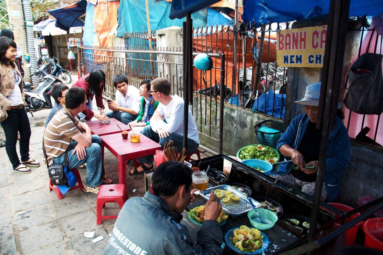 Vietnamese Street Food in Ho Chi Minh City
